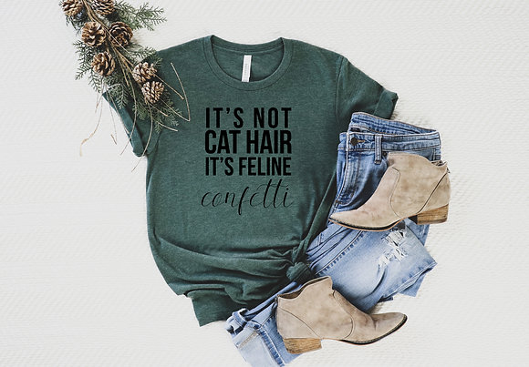 It's not cat hair Short-Sleeve Unisex T-Shirt