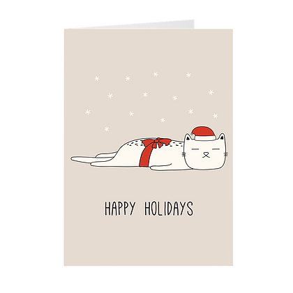 Cat Holiday Cards