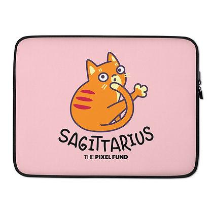 Laptop Sleeve: Sagittarius Cat