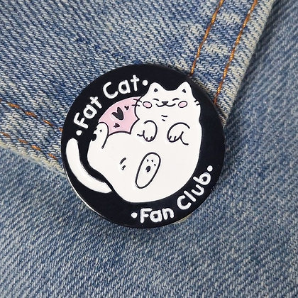 Fat Cat Fan Club Individual Pin