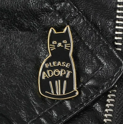 Please Adopt Rescue Pin