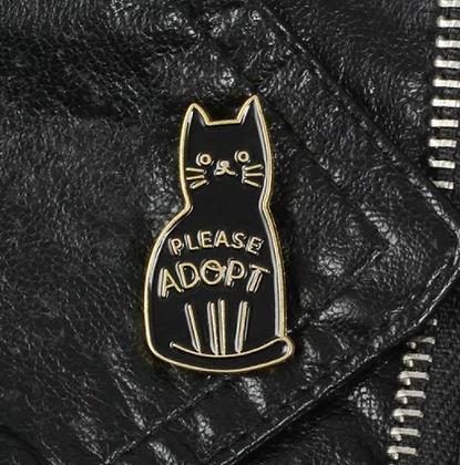 Please Adopt Rescue Pin