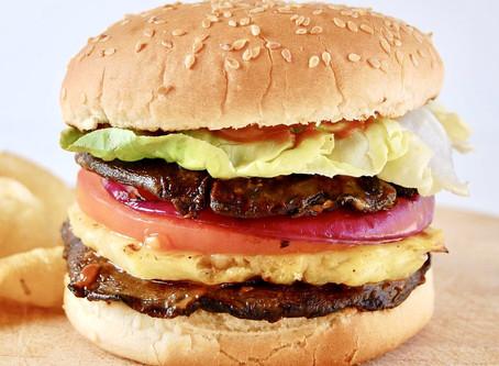 Plant Based BBQ Hawaiian Burger