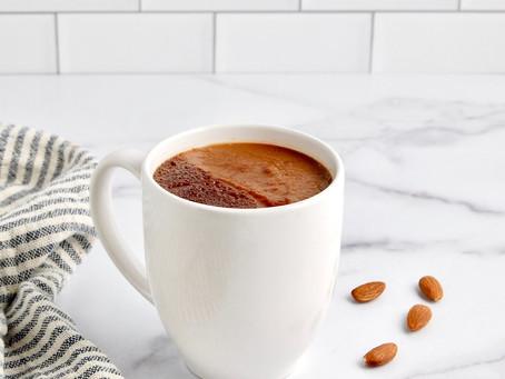 Dairy-Free Choco Banana Chai Latte