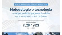 """Master """"Metodologie e tecnologie a supporto dell'engagement e della comunicazione con il paziente"""""""