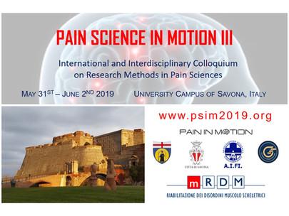 ForRheuma al congresso internazionale: Pain Science in Motion III edizione