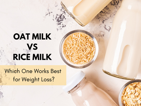 Rice Milk vs Oat Milk, Which One Works Best for Weight Loss?