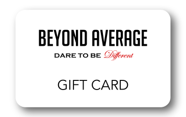 Beyond Average Gift Card