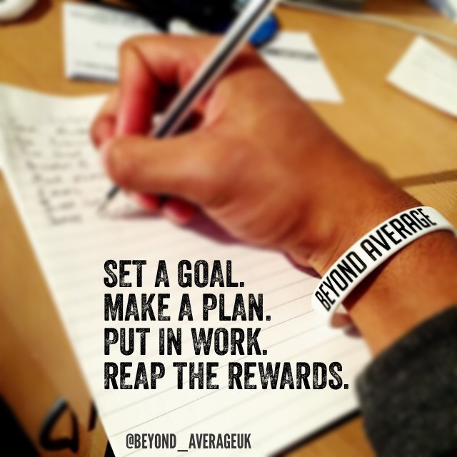 TIP: Writing things down is always a good way of keeping track of progress.