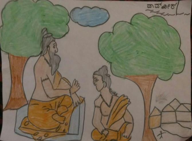 Realizing Divine Through Arts