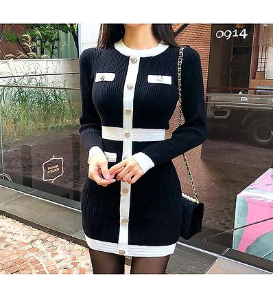 Ms Chanel - Stylish 1 Pcs Dress