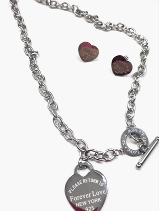 Breakfast at Tiffinay's Earrings & Necklace Gift Set - FREE Gift Wrapping