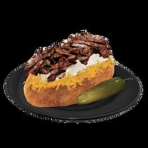 Baked Potato, Papa asada