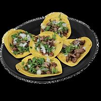 Taquitos, street tacos,