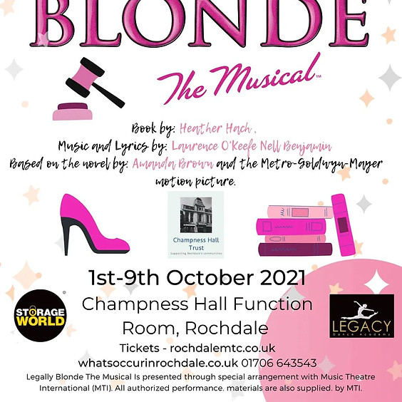 Legally Blonde - Friday 1st October - Evening Performance