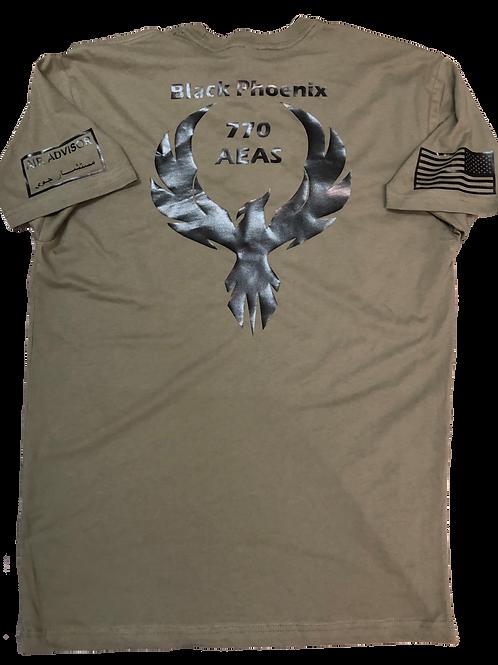 770th Black Phoenix Eagle tshirt