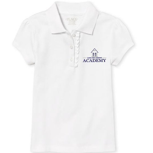 CLA logo GIRLS UNIFORM TOP