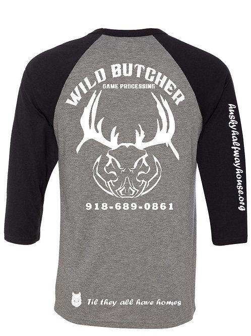 Wild Butcher Baseball Tee