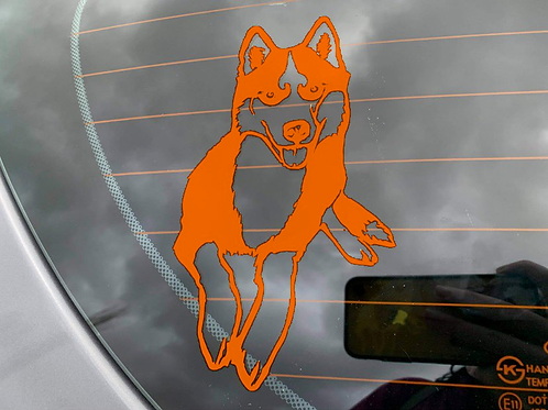 Your Dog As A Decal!