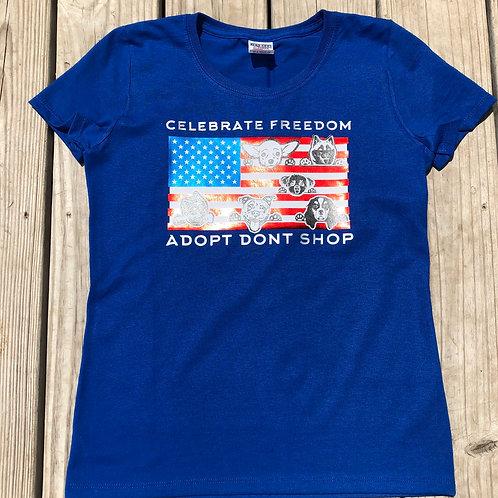 Celebrate Freedom tshirt or tank