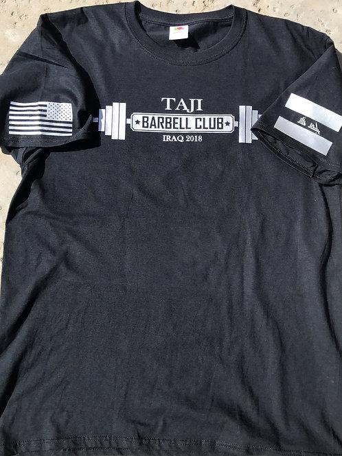 T-Shirt (ONE COLOR FLAG) - TAJI BARBELL CLUB 2018
