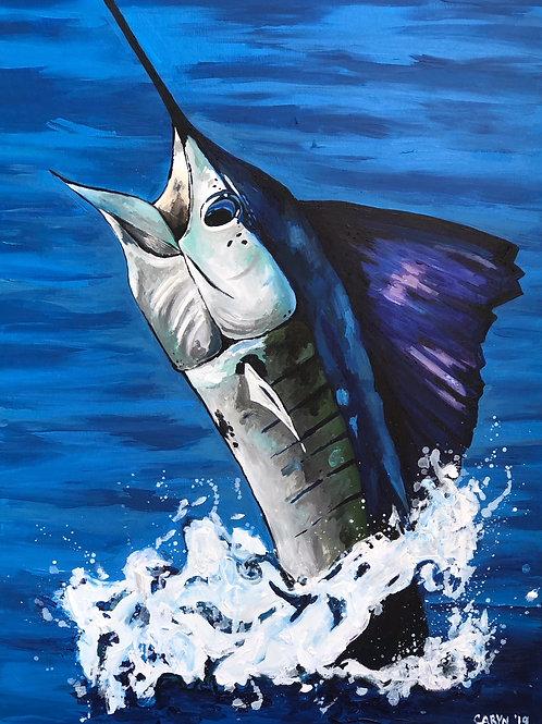 Vertical Sailfish