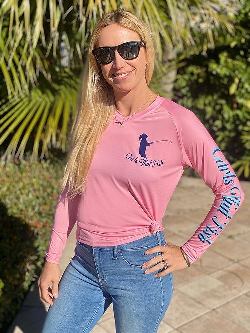 """Pink Mahi """"GTF"""" Shirt"""