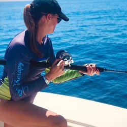 Erika Almond Fishing