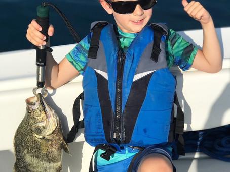Evan's Fishing Adventures!