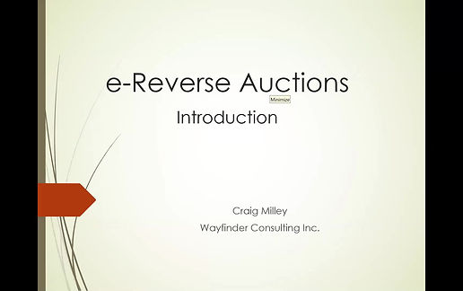 Demystifying Reverse Auctions