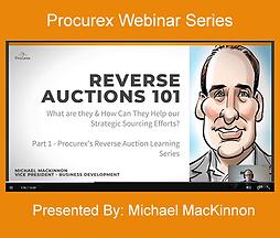 Reverse Auctions 101