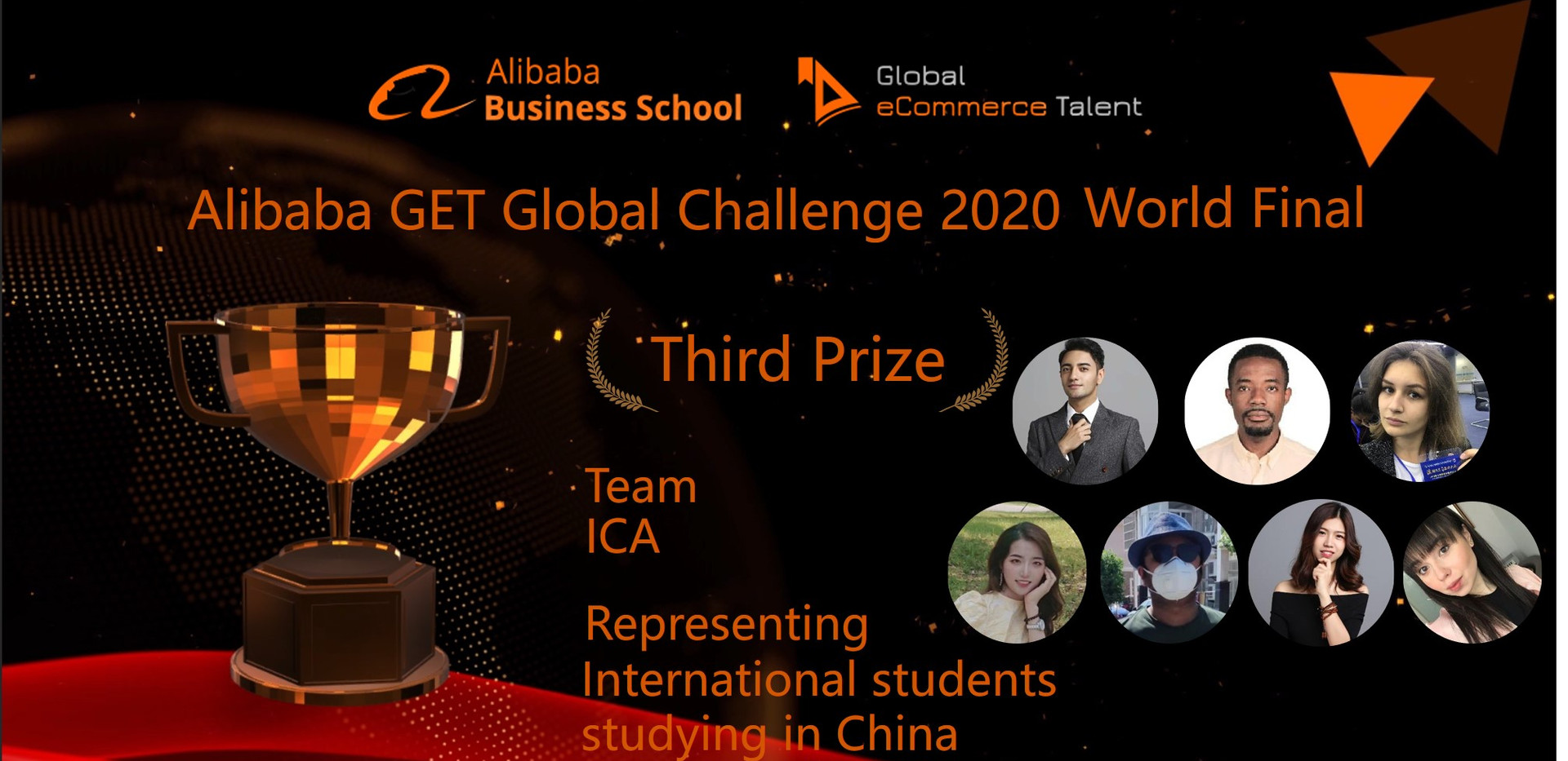 Third Prize - International students study in China
