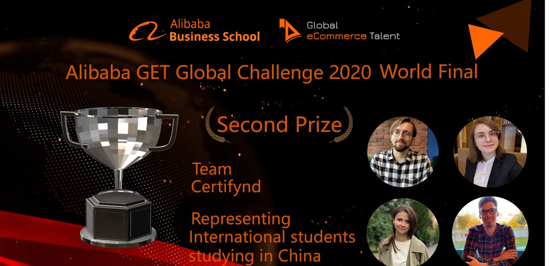 Second Prize - Int'l Students from China