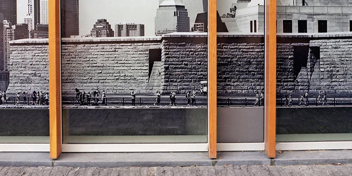 Financial Surrealism (World Trade Center II) Development Hoarding, Zuidas Financial District Amsterdam, Netherlands, 2015 from THE MARKET