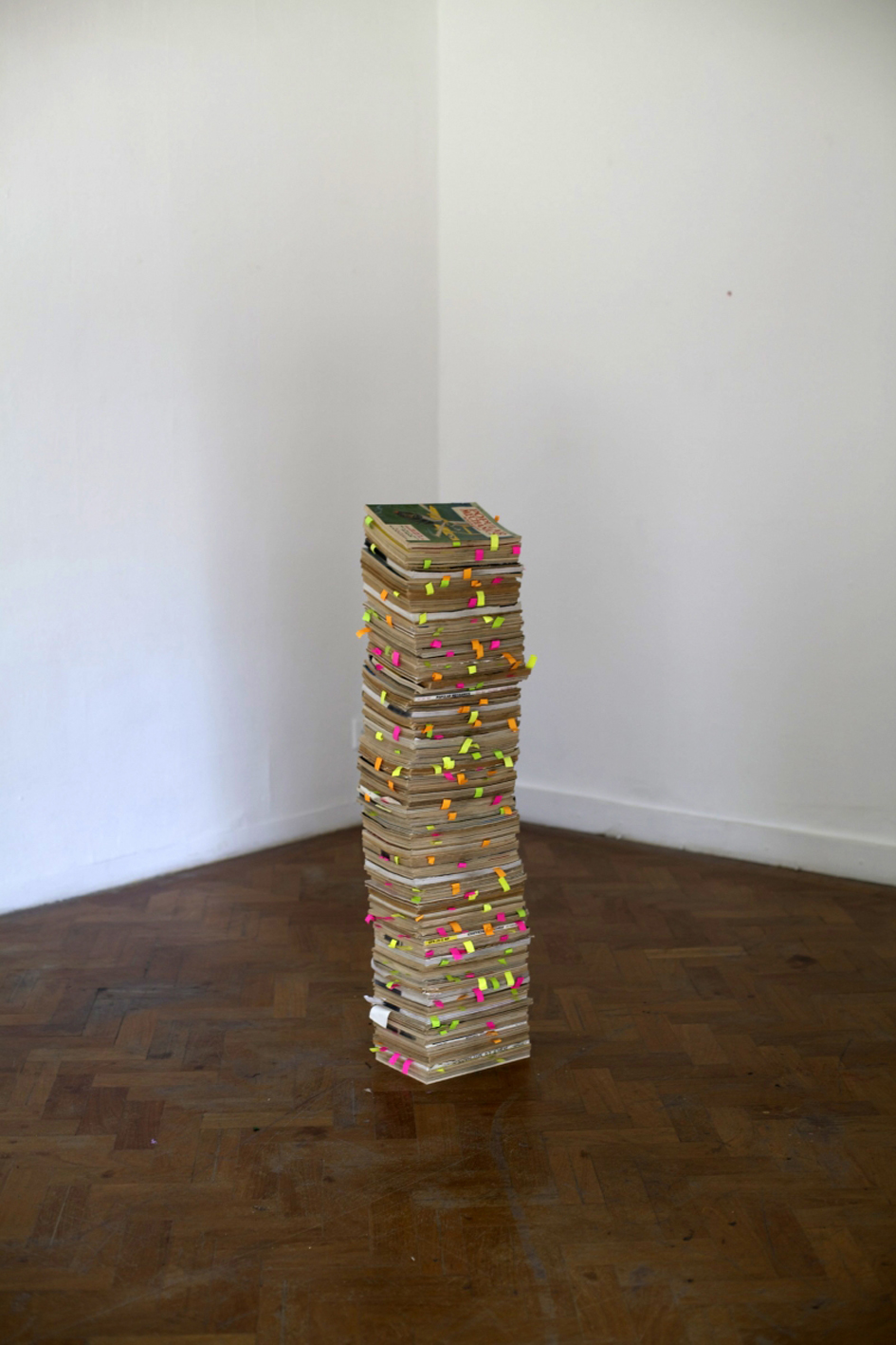 Install shot of: The RagPickers Tower, 2012
