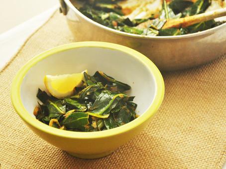 Fragrant Ethiopian Collard Greens