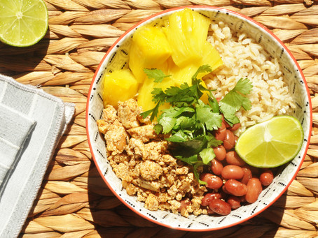 Jamaican Jerk Tofu Bowl