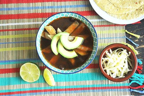 Tortilla Soup (Sopa Azteca)