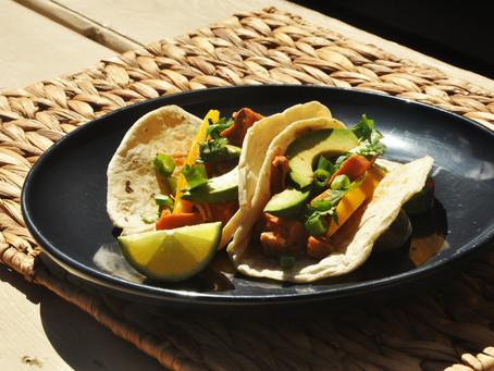 Jamaican Jerk Jackfruit Tacos