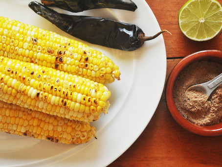 Chipotle-lime corn on the cob