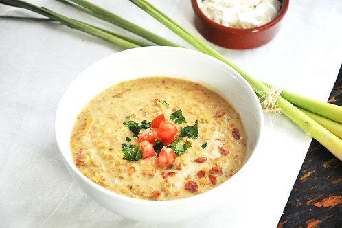 Thai Lentil, Tomato and Coconut Soup