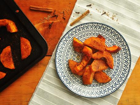 Ethiopian Spiced Roast Squash