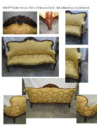Antique Furniture Reupholstery