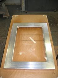 Silver Leaf Frame Restoration