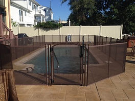 pool safety fence | baby loc