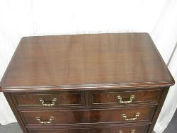 Walnut 6-Drawer Chest of Drawers