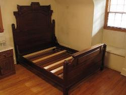 Antique Walnut Bedstead Repair
