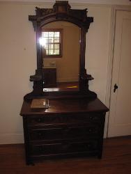 Antique Walnut Dressing Table Repair