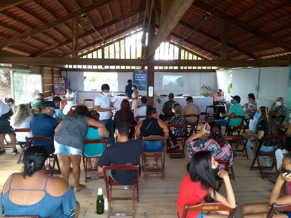 Fórum em Defesa do Meio Ambiente em Jacarapé