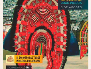 III Encontro das Tribos indígenas do Carnaval - aniversário de João Pessoa